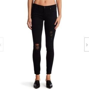 Arricles of Society black skinny jeans distressed